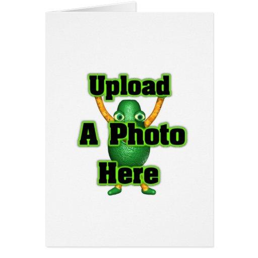 Upload photo to Valxart templates Card