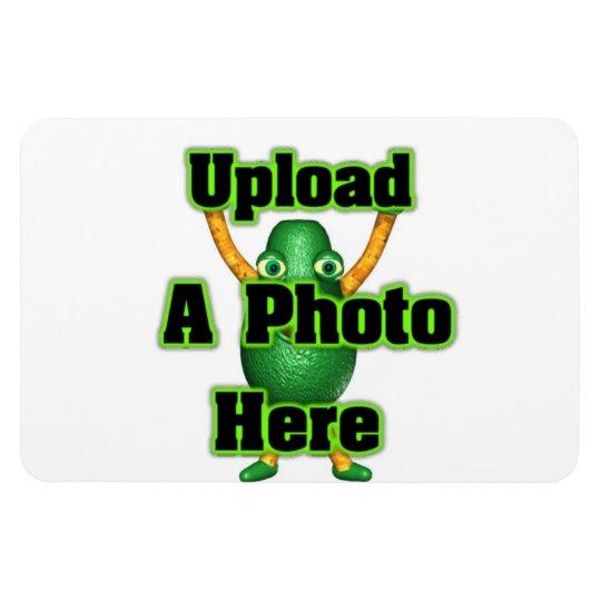 Upload photo to Valxart templates Magnet