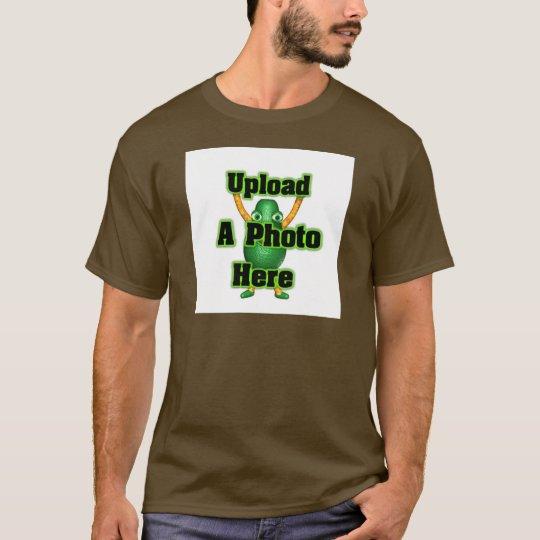 Upload photo to Valxart templates T-Shirt