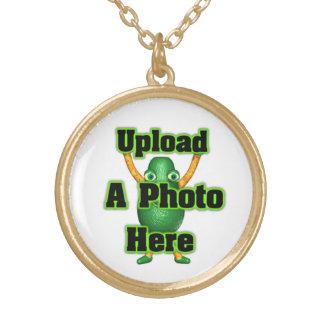 Upload photo Valxart gold finish necklace