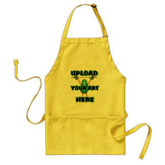 upload your art to templates by Valxart.com Adult Apron