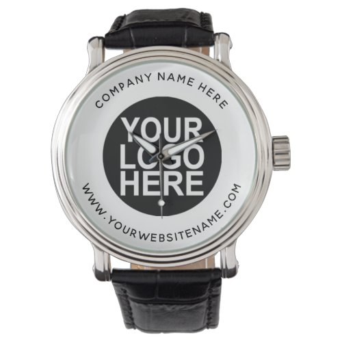 Upload Your Company Logo Watch