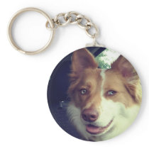 Upload your Custom pet photo Keychain