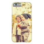 Upload Your Own Image Barely There iPhone 6 Case at Zazzle