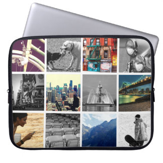 Photo - Upload-Your-Own-Photo Collage Laptop Sleeve