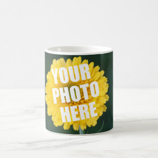 UPLOAD YOUR OWN PHOTO & Create The Perfect Gift Coffee Mug