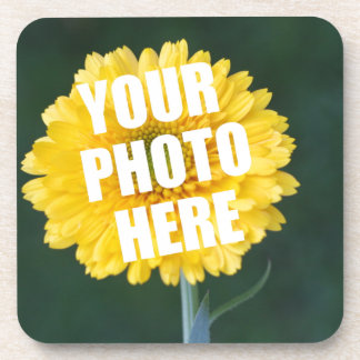 UPLOAD YOUR OWN PHOTO & Create The Perfect Gift Drink Coaster