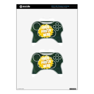 UPLOAD YOUR OWN PHOTO & Create The Perfect Gift Xbox 360 Controller Decal
