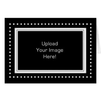 Upload Your Own Photo Frame Greeting Card
