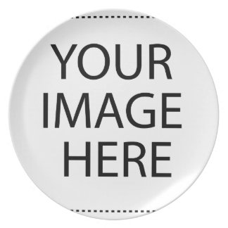 Upload Your Own Photo Party Plates