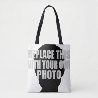 upload your own photo tote bag