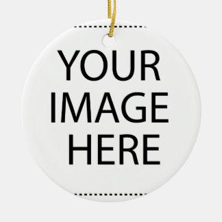 Upload your Own Pictures to make Premium Ceramic Ornament