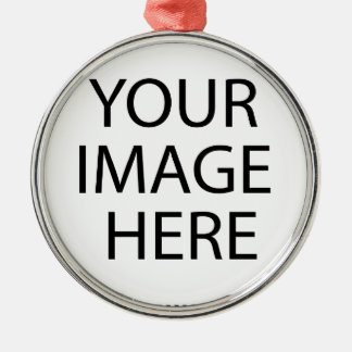 Upload your Own Pictures to make Premium Metal Ornament