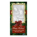 Upload Your Photo, Designer Flat Holiday Cards Picture Card