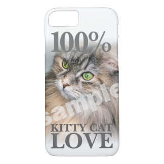 Upload Your Photo Kitty Cat Love iPhone 8/7 Case