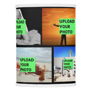 Upload your photo lamp shade