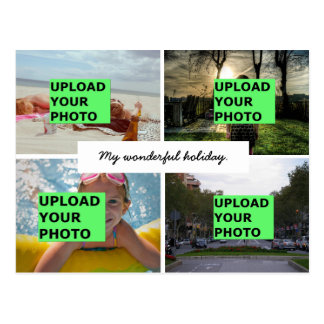 Upload your photo postcard