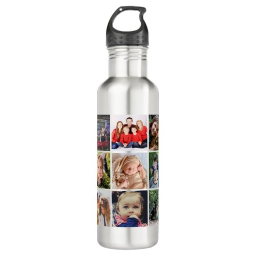Upload your photo stainless steel water bottle