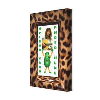 upload your photo to leopard illusion canvas wrap gallery wrapped canvas