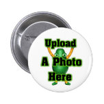 Upload your photo to template products pinback button