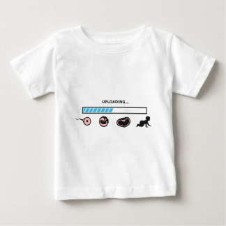 uploading baby pregnant woman baby T-Shirt
