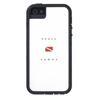 Upolu Samoa Scuba Dive Flag iPhone SE/5/5s Case