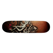 Upon A Pale Horse Skateboard Deck