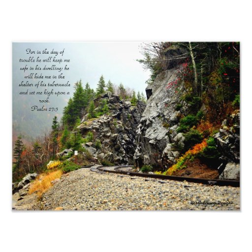 Upon A Rock Photo Print