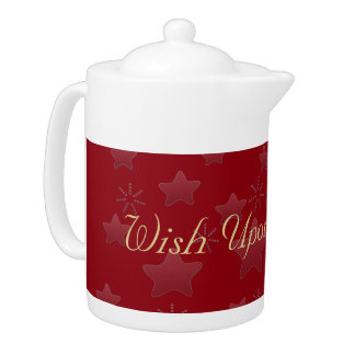 Upon a Star  Holiday Season Gift Teapot
