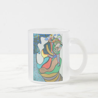 """Upon Future"" by Ruchell Alexander Frosted Glass Coffee Mug"