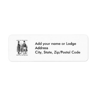 Upon The Level Return Address Label