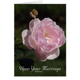 Upon Your Marriage Card