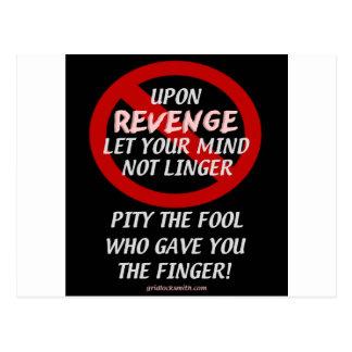 UponRevenge-PityTheFool Postcard