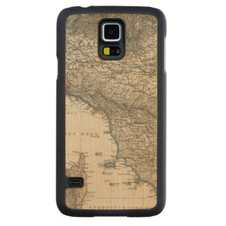 Upper and Central Italy Carved® Maple Galaxy S5 Slim Case