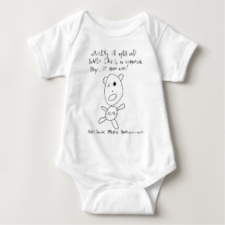 Upper and Lower Case Writers. Urgh! Baby Bodysuit