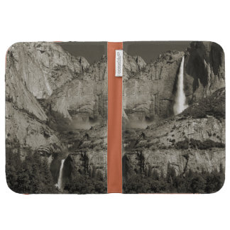 upper and lower yosemite falls ansel adams like case for the kindle
