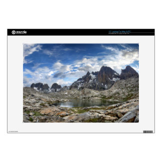 Upper and Middle Nydiver Lakes Panorama - Sierra Laptop Decal