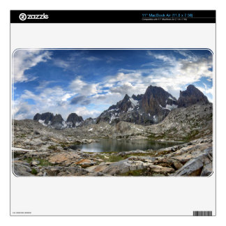 Upper and Middle Nydiver Lakes Panorama - Sierra MacBook Skin