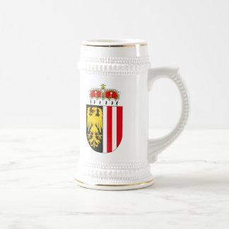 Upper Austria Coat of Arms Mug