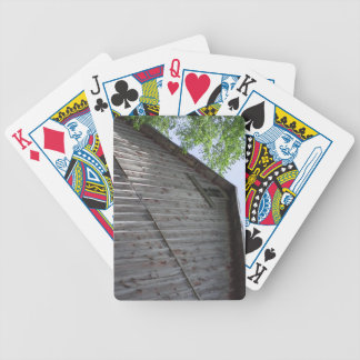 Upper Barn Window playing cards