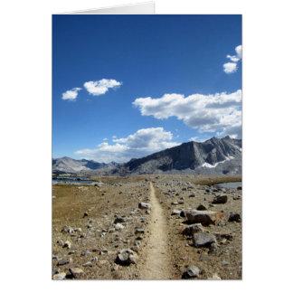 Upper Basin - John Muir Trail Card