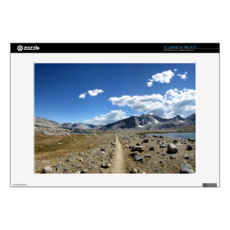 "Upper Basin - John Muir Trail Decals For 13"" Laptops"