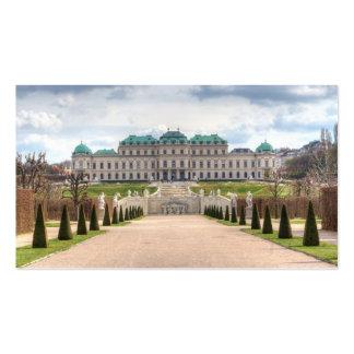 Upper Belvedere Vienna Austria Business Card