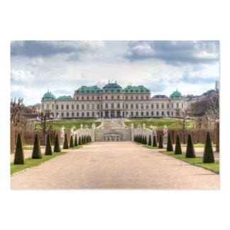 Upper Belvedere Vienna Austria Large Business Card