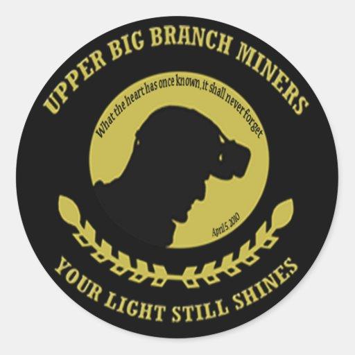 Upper Big Branch Miner Memorial Stickers
