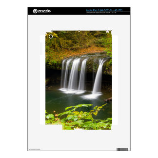 Upper Butte Creek Falls in Autumn Decal For iPad 3