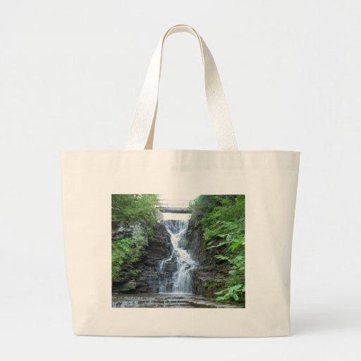 Upper Buttermilk Falls Ithaca, NY Tote Bag