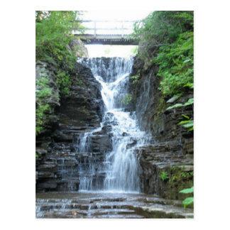 Upper Buttermilk Falls Ithaca, NY Postcard