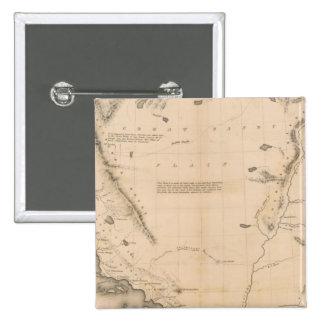 Upper California Pinback Button
