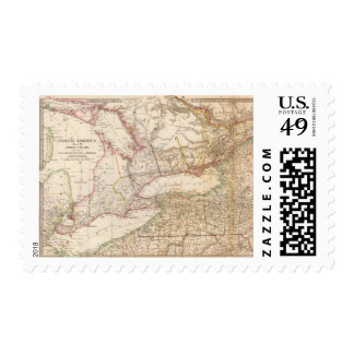 Upper Canada, NY, Penn, Mich Postage Stamp